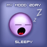 My mood 2 day sleepy